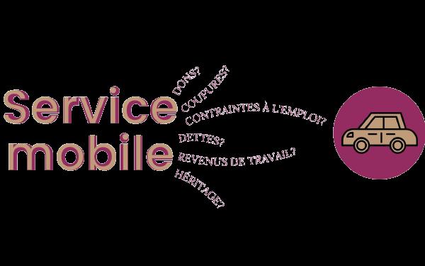 Service mobile de Rose du Nord